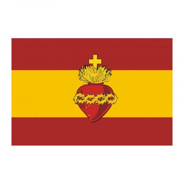 Bandera España Sagrado Corazón de Jesús