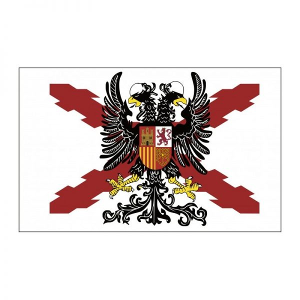 Bandera BORGOÑA ÁGUILA BICÉFALA
