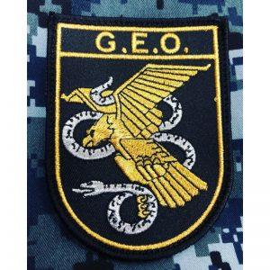 Emblema bordado GEO