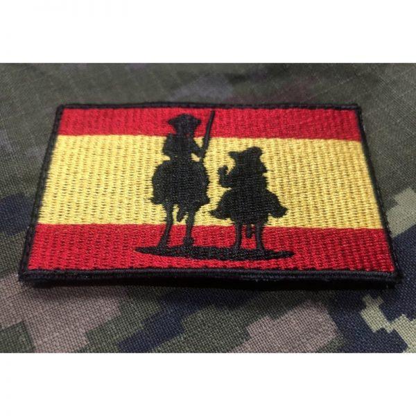 Bandera de España Quijote