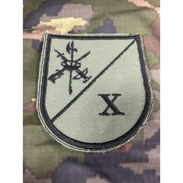 Emblema de brazo bordado X Bandera Legión