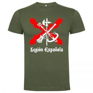 Camiseta Legión Española Aspas