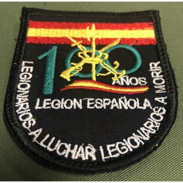 Emblema Bordado 100 Años Legion Española