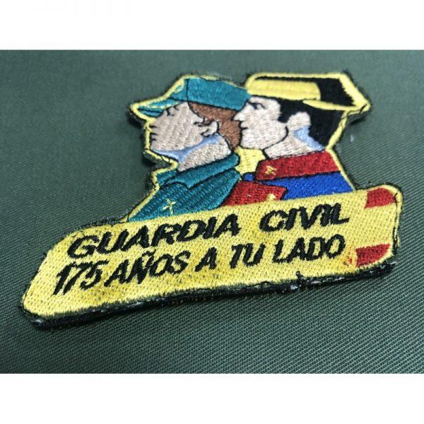 Emblema bordado Guardia Civil 175 años a tu lado